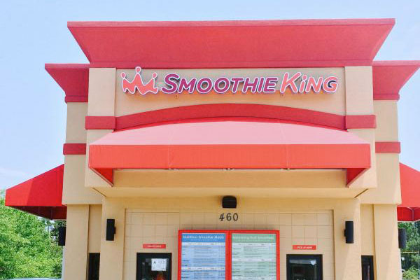 Commercial Awnings Morehead City NC Smoothie KIng